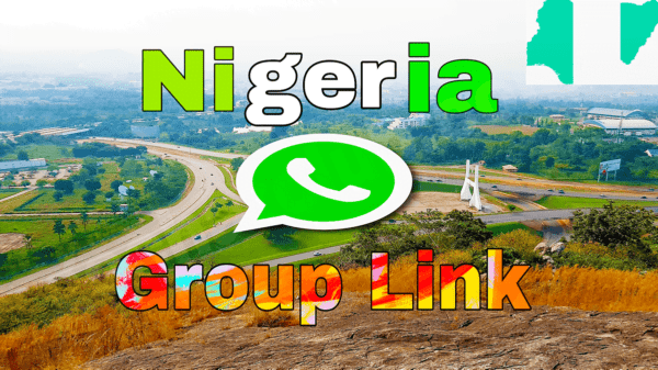 Nigerian Whatsapp Group Link