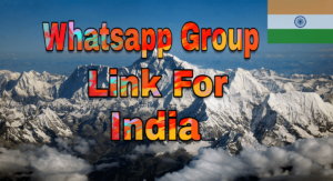 Join Indian Whatsapp Group Link