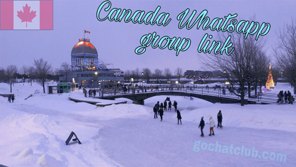 Canada Latest Whatsapp Group Link